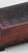 LARGE JEWELRY TREASURE CHEST