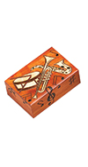 Multicoloor Music Instrument Box