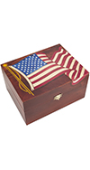 Extra Large Flag Box with Latch