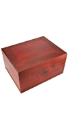 GREEK KEYS MAHOGANY BOX