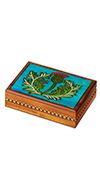 WOODEN THISTLE BOX