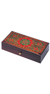 LARGE FLORAL PATTERN BOX
