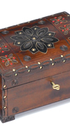 FLORAL PATTERN CHEST BOX