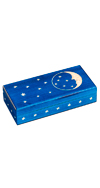 BLUE STARS AND MOON BOX