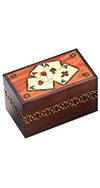 FOUR ACES CARD BOX