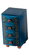 UPRIGHT CHEST OF DRAWERS