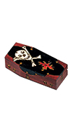 MEDIUM PIRATE CASKET BOX