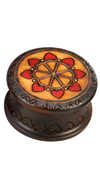 ROUND INLAID BOX