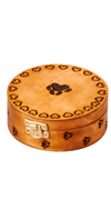 MEDIUM ROUND PAW PRINT BOX