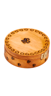 LARGE ROUND PAW PRINT BOX