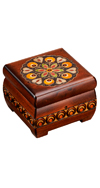 BROWN MEDALLION CHEST
