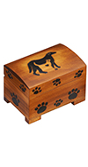 MEDIUM DOG / CAT PAW PRINT CHEST