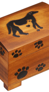 LARGE DOG / CAT PAW PRINT CHEST
