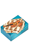 BLUE VIOLIN BOX
