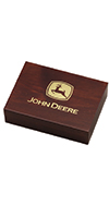 *JOHN DEERE PLAYING CARD BOX