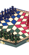 TRI-COLOR CHESS FOR THREE SET