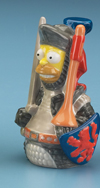 *SIMPSONS HOMER KNIGHT SHOT