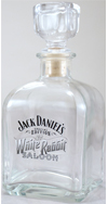 JD White Rabbit Decanter
