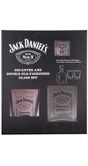 JD Decanter/2 DOF Set Black Label Logo
