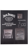 JD Decanter/2 DOF Set White Rabbit Saloon