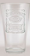 JACK DANIEL'S RELIEF LOGO MIXING GLASS