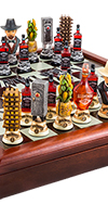 *JACK DANIEL'S CHESS SET